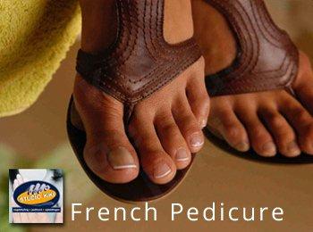 voorbeelden french pedicure