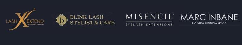 logos lashes