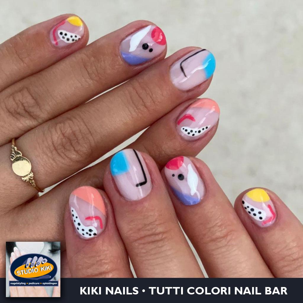 Pop Art Nails • Tutti Nail Art